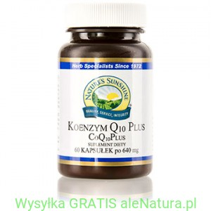 NSP Koenzym Q10 PLUS - Nature's Sunshine 60 kasułek