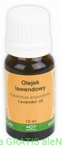 ACT NATURAL olejek lawendowy 10ml